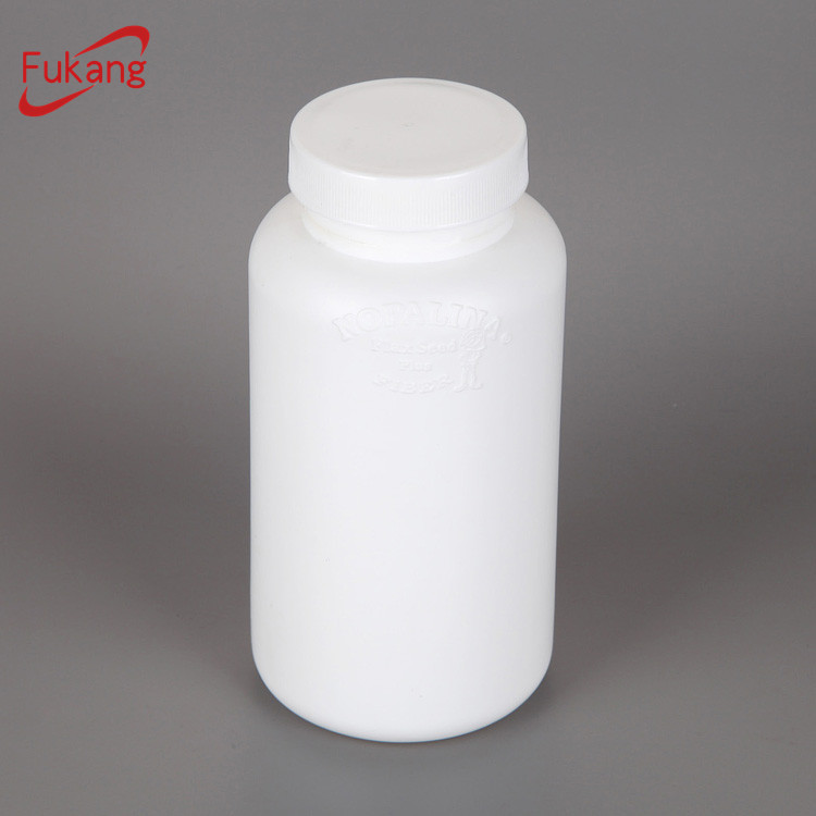 300ml child proof cap medicine bottle, bpa free cylinder plastic bottles, chemical storage hdpe plastic container wholesale