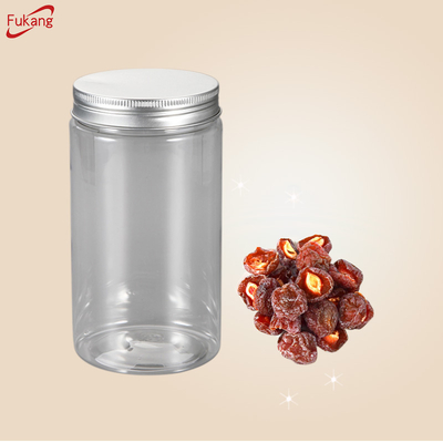 Wholesale Transparent Round Small PET Plastic Jar
