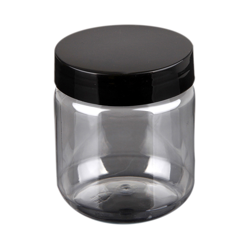 300ml hermetic storage jars airtight plastic PET jar food grade