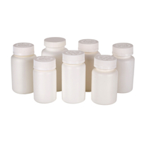 175ML HDPE round plastic jars for packaging vitamin pe bottle
