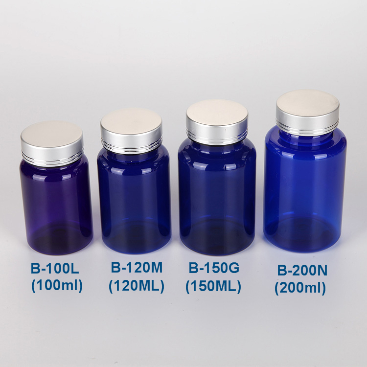 Pharmaceutical 100ml Packaging Plastic Bottles