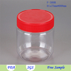 1000 Ml Plastic Bottle Jr Square Shaker Bottles With Lid With Lid