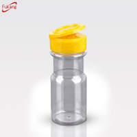 100cc Plastic Jar With Shaker,Plastic Grip Spice Bottles
